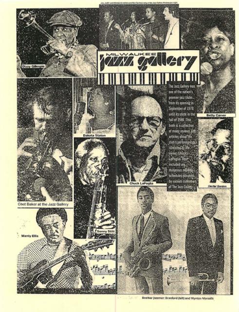 The Milwaukee Jazz Gallery
