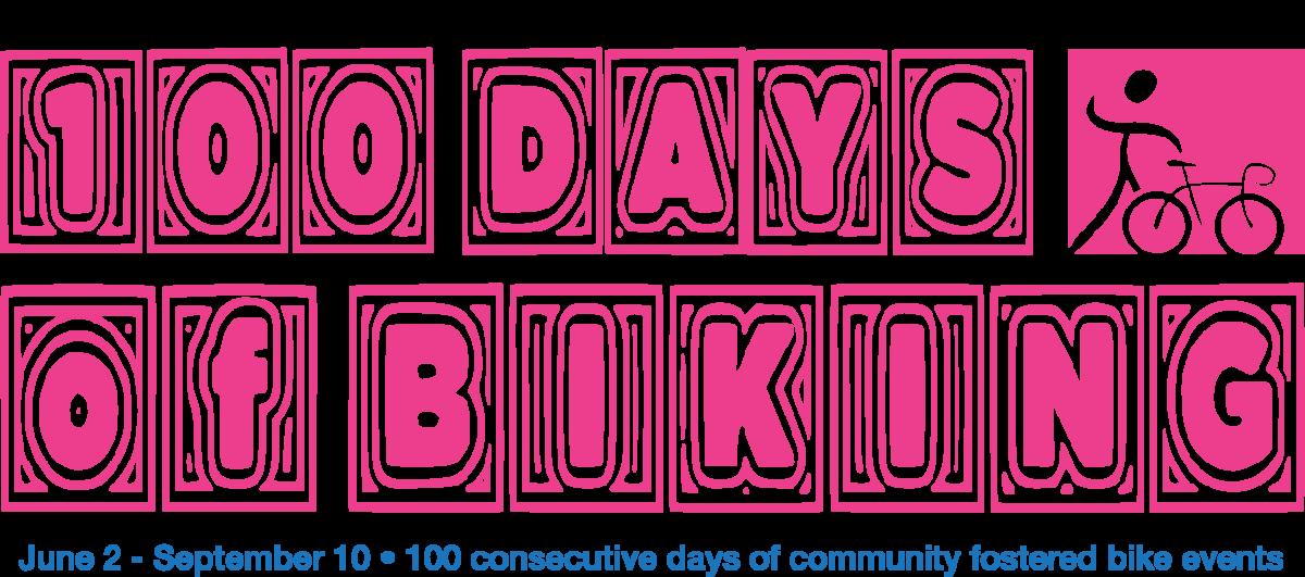 100 days of biking in milwaukee