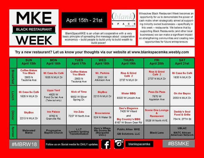 Milwaukee Black Restaurant Week