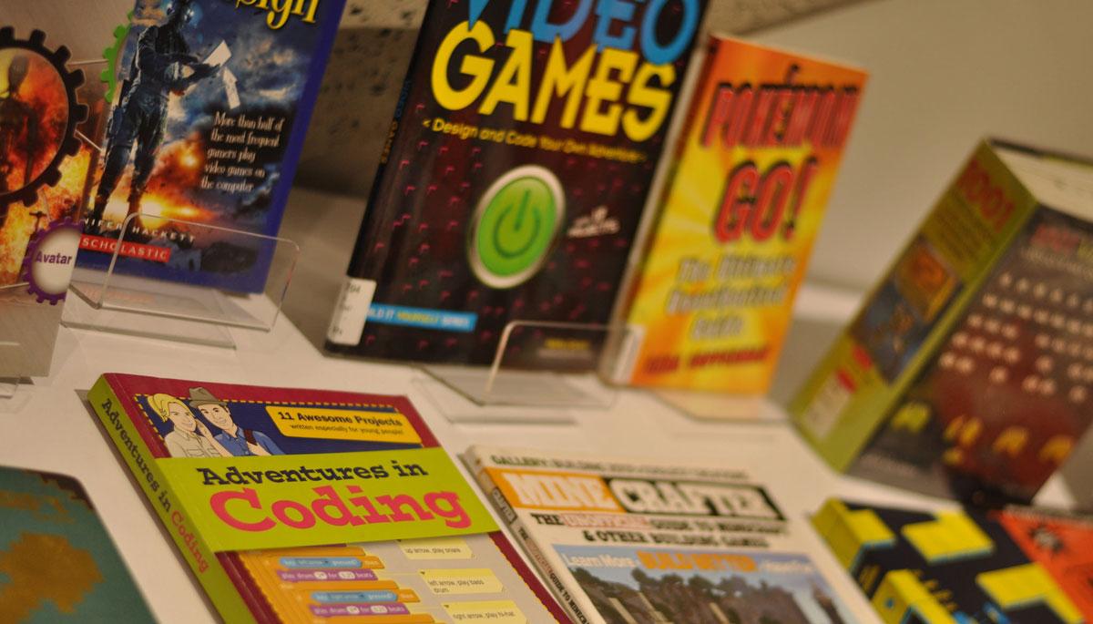 Teen Game Jam books