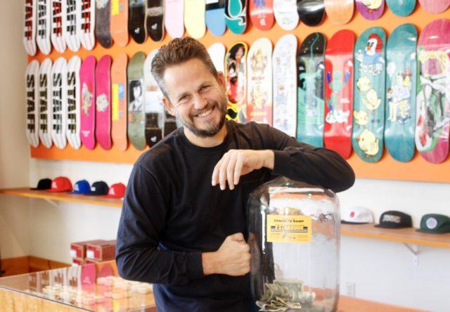 Aaron Polaski, owner of Sky High