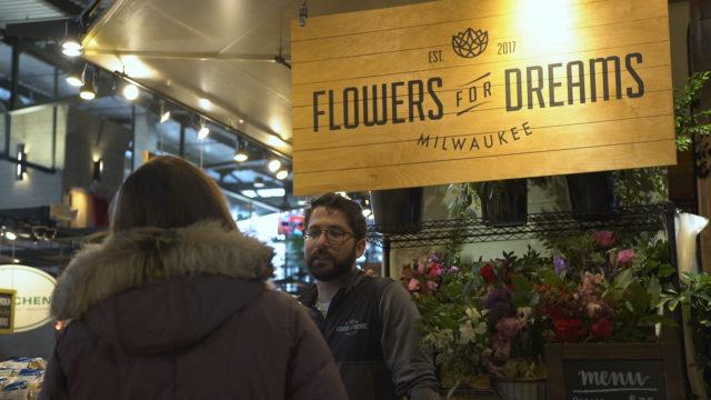 flowers for dreams milwaukee public market