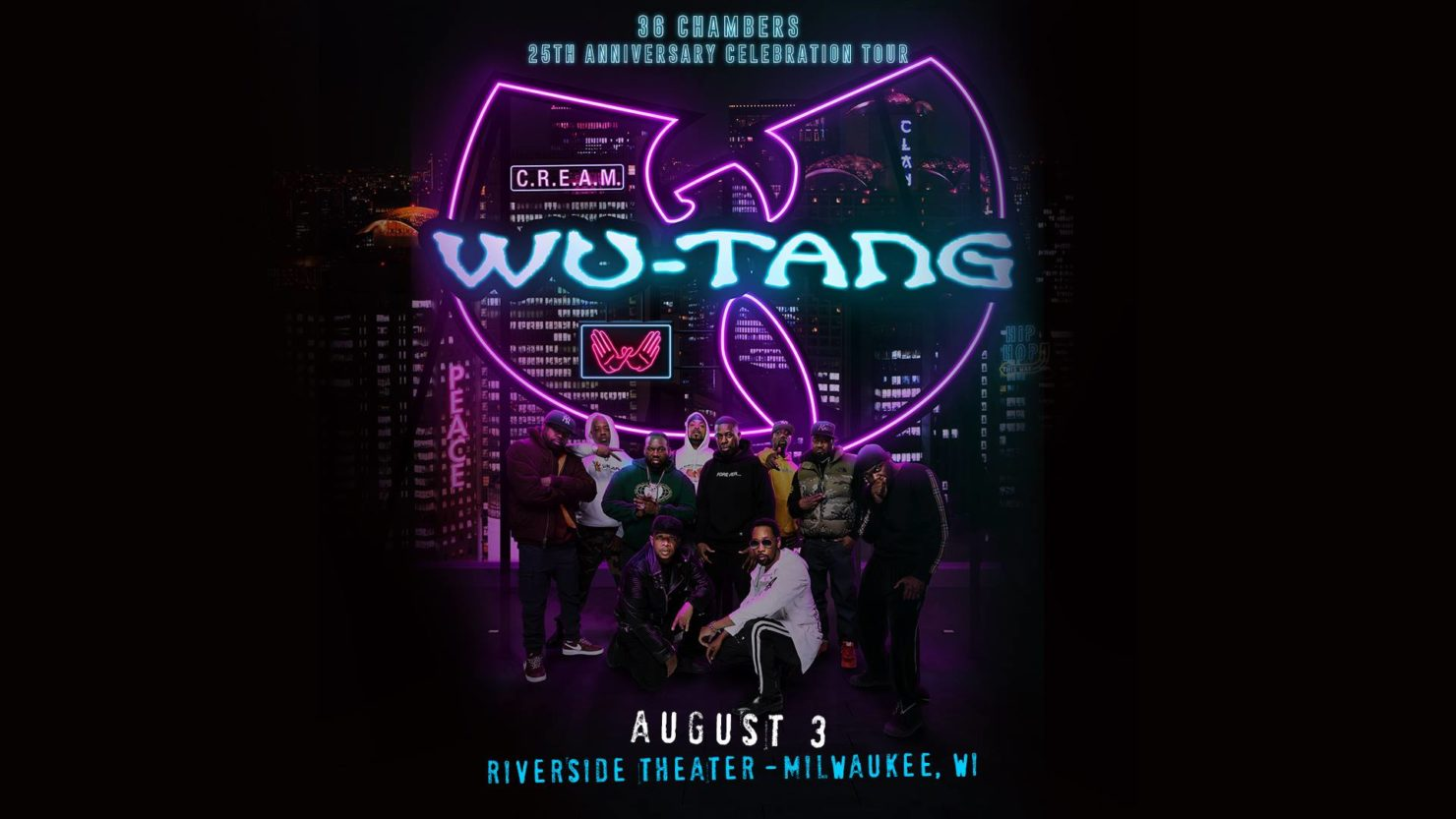Wu-Tang 25th Anniversary Tour in Milwaukee