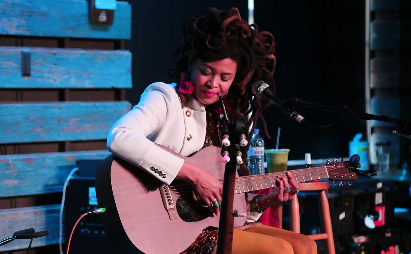 Valerie June studio Milwaukee session